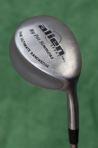 This is a preowned Alien Sport by Pat Simmons The Ulitmate Sand Wedge golf club. This unique sand wedge is in average used condition, with some usage wear on the head and face (see photos). Lots of unusual design features make this club a good option for golfer who have trouble getting out of the sand. | eBay!