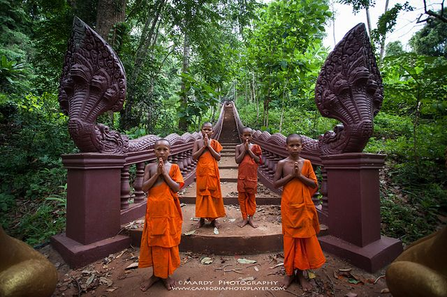 Welcome to Pchum Ben's Day! by Mardy Suong on Flickr.Stueng Trong, Kampong Cham province