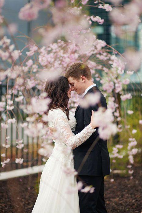 Wedding photo at Provo City Center Temple