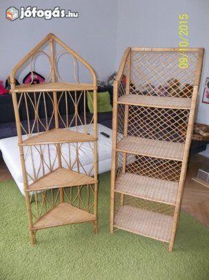 Eladó Rattan bútorok, polcok, székek, fotelok, asztal: Kínálatomban főként egyedi, csodálatos ...