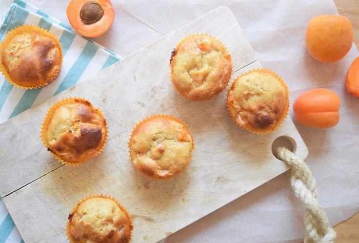 Gezonde yoghurtcakejes met abrikoos - Chickslovefood