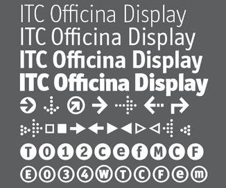 ITC Officina Display