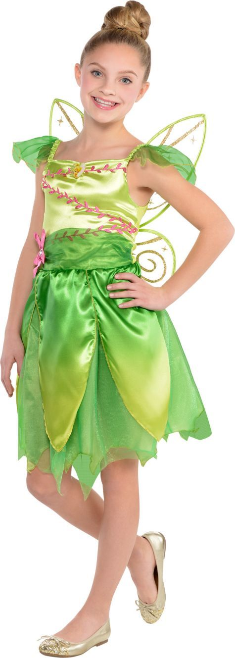 Girls Classic Tinkerbell Costume - Party City