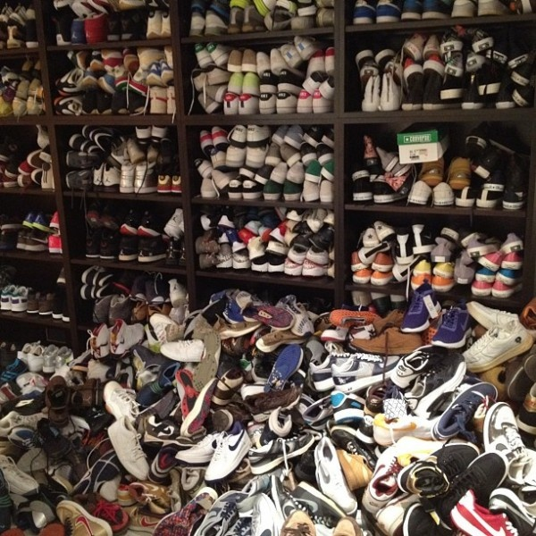 Edison Chens Sneaker Closet