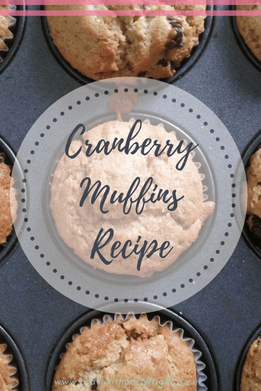Cranberries however I do like and this Cranberry muffin recipe with a warming hint of cinnamon is just the thing to start off your festive baking.