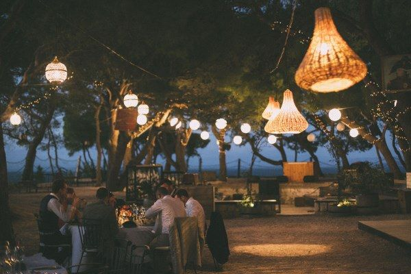 Lantern Lights Lighting Rustic Outdoor Croatia Destination Wedding https://www.facebook.com/LiliZanetaPhotography https://www.facebook.com/AnteaMrcelaPhotography