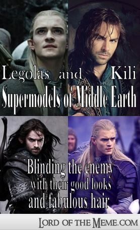 Legolas and Kili: