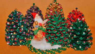 Pi as de pino decoradas para navidad photos pinterest navidad - Pinas decoradas para navidad ...