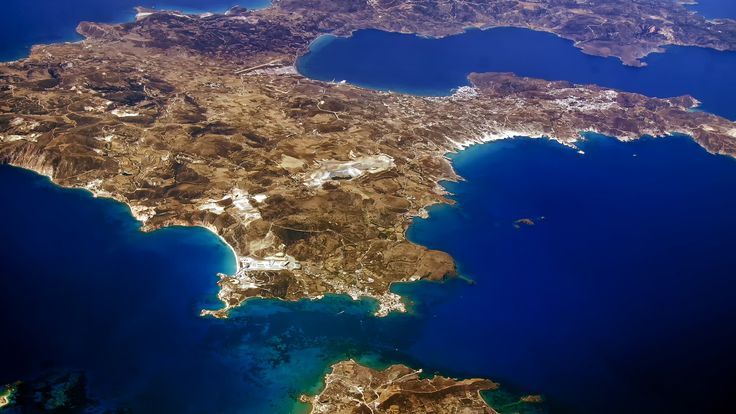 https://flic.kr/p/JJENpF | Milos island over island of kimolos