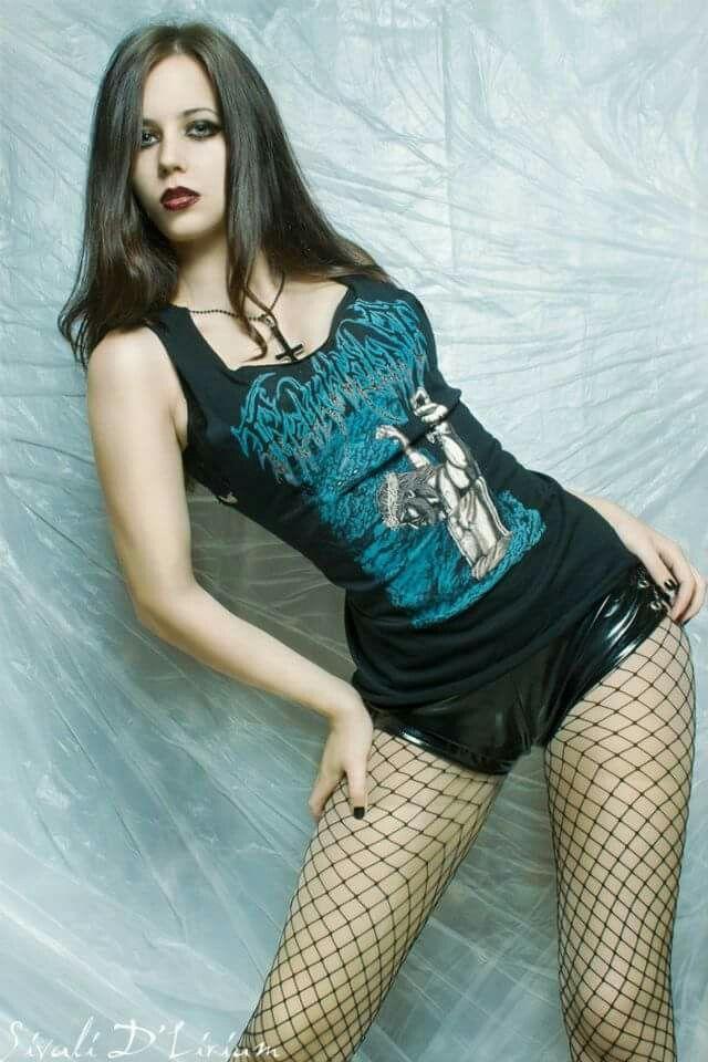 Beautiful Legs  Sexy Goth Girls  Goth Women, Gothic -3497