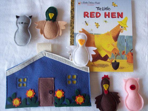 Making quiet books from children's books.