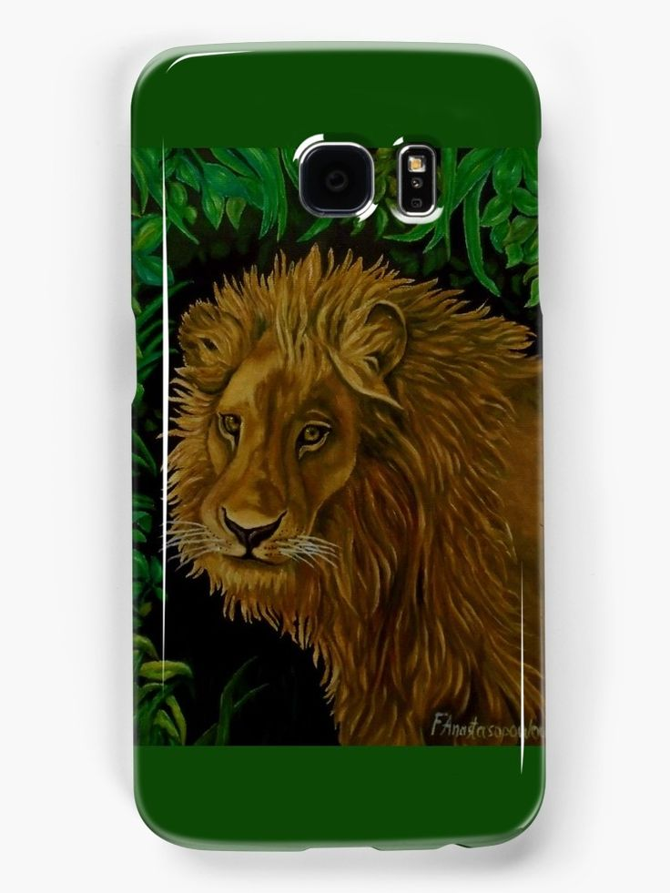 Galaxy Case,  colorful,green,cool,beautiful,fancy,unique,trendy,artistic,awesome,fahionable,unusual,accessories,for sale,design,items,products,gifts,presents,ideas, lion,african,portrait,animal,wildlife,redbubble