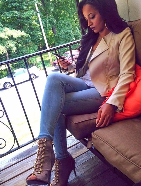 Fall Outfit - Jacket and Booties