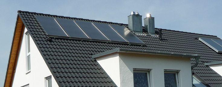 Wallnöfer - Zonneboilers - vlakke panelen - op dak of indak - duurzaam verwarmen - solar - zonnepanelen - www.eco2all.nl