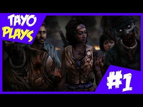 The Walking Dead: Michonne - Ep 2 Pt 1 (Give No Shelter) [Let's Play/Walkthrough] - Tayo plays games