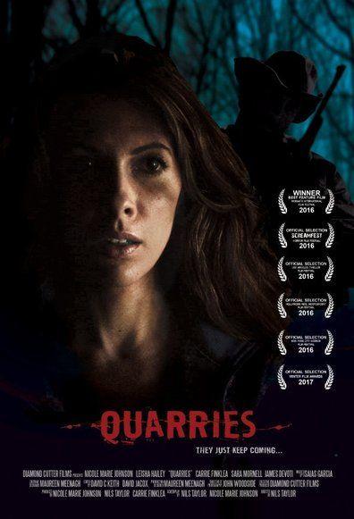 Quarries (2016) Regarder Quarries (2016) en ligne VF et VOSTFR. Synopsis: Pour échapper a son conjoint violent , Kat participe a une excursion en forêt avec un gro...
