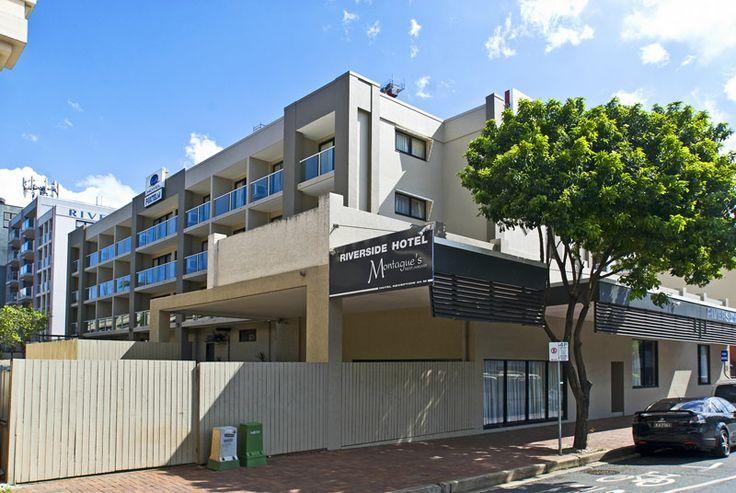 Riverside Hotel Brisbane Street View