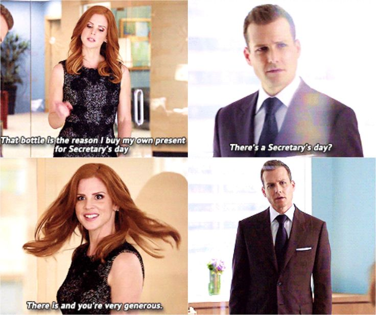 Suits - Harvey and Donna
