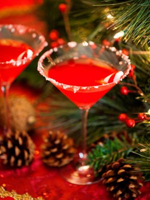 The Nice List (2 ½ oz. Voga Sparkling Wine 1½ oz. vanilla