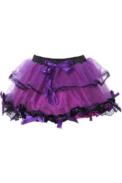 f619047061 Purple Petticoat in 2019   twitch con outfit ideas   Lace mini ...