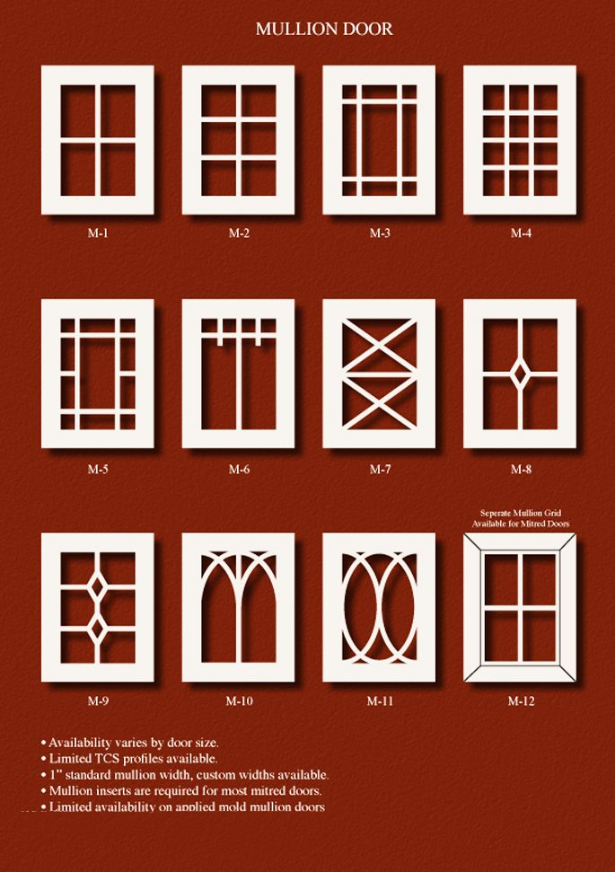 TNT Cabinet Door Details For Mullion Door · Custom Cabinet DoorsCustom  CabinetsKitchen ...