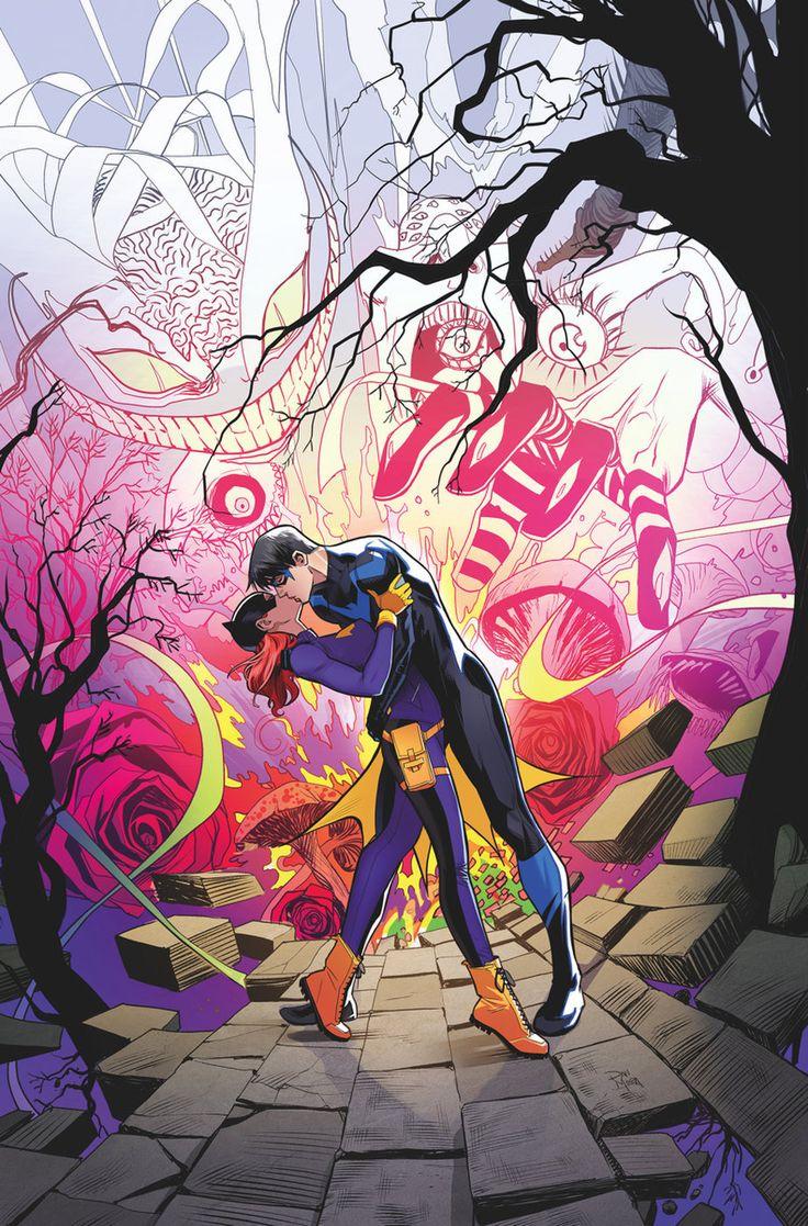 Nightwing & Batgirl.