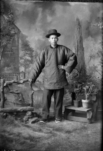 Chinese American Man c.1900 | Little Deputy Costumes ...