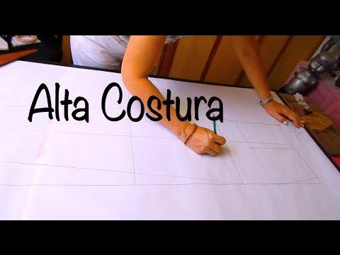 Alta Costura Clase 59, Pantalón Dama Tazo parte Trasera - YouTube