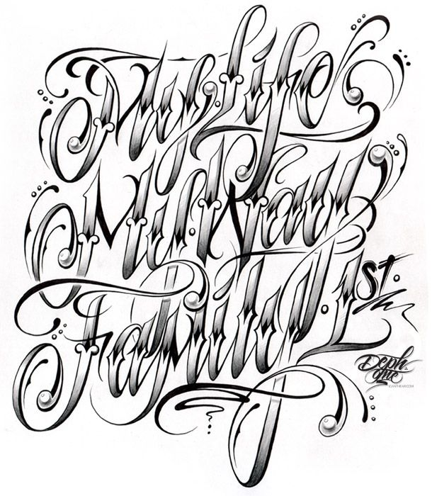 17 Best images about fonts on Pinterest   Tatto letters, Lettering ...