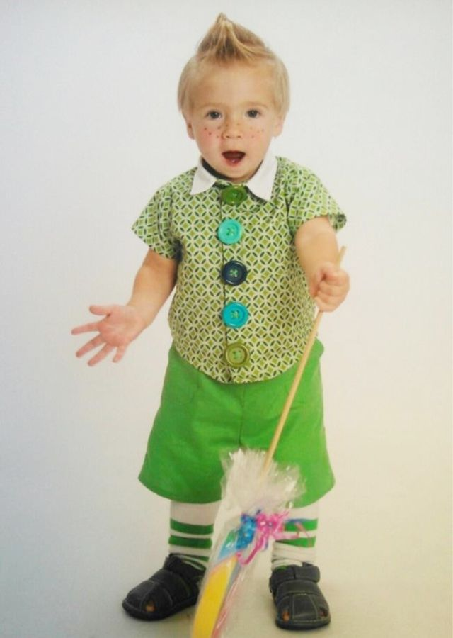 106 best creative costumes images on pinterest children for Creative toddler halloween costumes