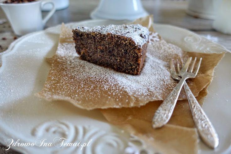 Zdrowo i na temat...: Bezglutenowy makowiec z kaszą jaglaną i herbatą owocową. Bez ciasta.  (ok. 3 łyżki mąki Schar (na bazie ryżowej lub innego mixu bez glutenu), proszek do pieczenia BIO)