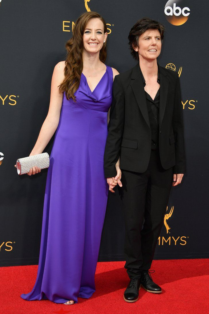 Hollywood Couples Raked In Some Cute Moments at the Emmys Tig Notaro and Stephanie Allynne