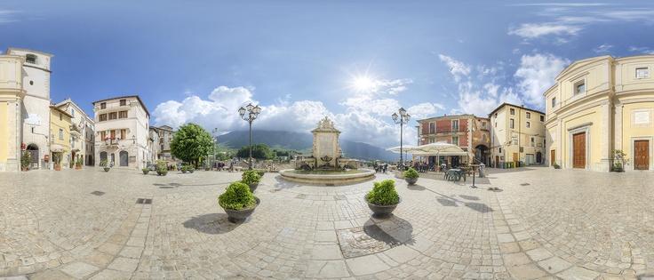 Piazza Regina Margherita, Carpineto, Lazio, Italy