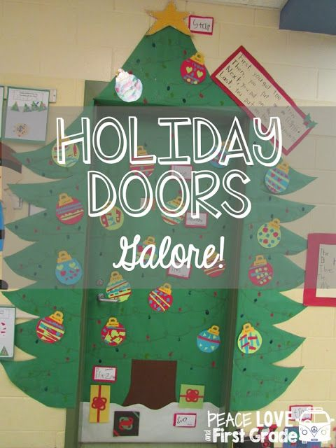 Holiday Doors Galore!