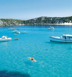 Rottsnest island, Perth, Australia - That has to be the bluest water ever.