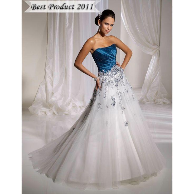 Best 25  Blue wedding gowns ideas on Pinterest | Blue wedding gown ...