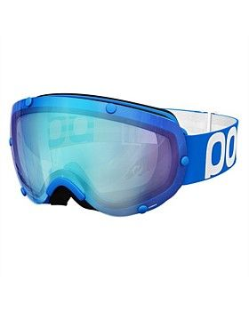 The Lobes Snow Goggles from POC has the lens placed outside the frame which results in an exceptionally wide field of view. The high tech construction methods of these goggles results in a perfect fit and superb optical qualities. Buy Now http://www.outsidesports.co.nz/Brands/POC.htm#catpage=6