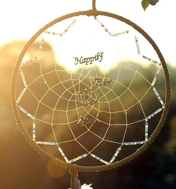 With the Brides Dream Catcher will also be a small 3″ dream catcher that can be…