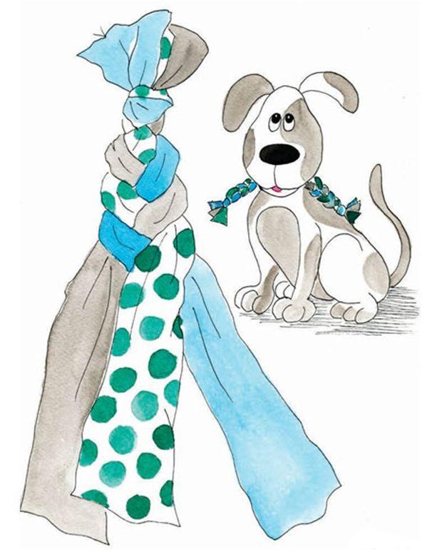 Spar penge ved selv at lave dit hundelegetøj.