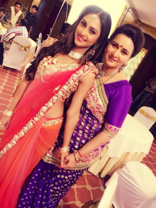 Krystle DSouza and Poonam Dhillon
