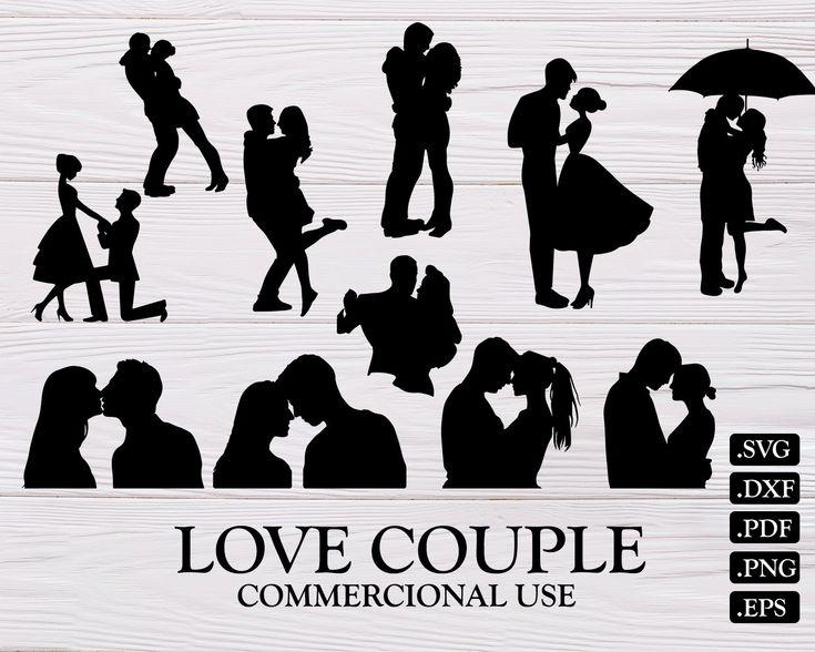 Download LOVE COUPLE SVG, love svg, couple svg, couples svg, kiss ...
