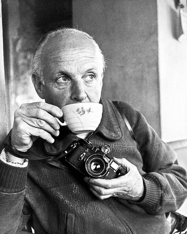 Henri Cartier-Bresson by Ara Güler