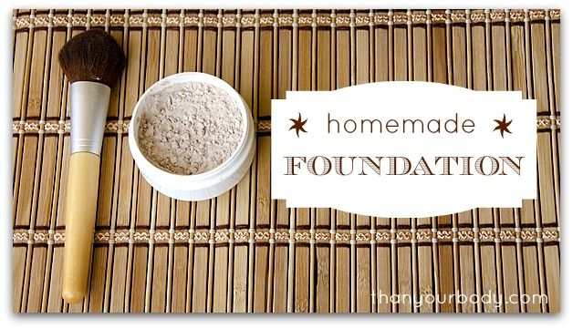 All natural homemade foundation from thankyourbody.com