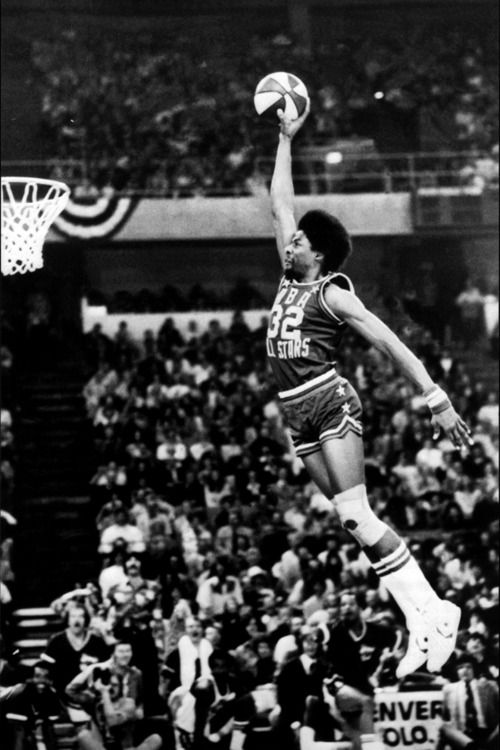 Dr. J....the original sky walker! Nobody does it better than MJ & the Doctor!