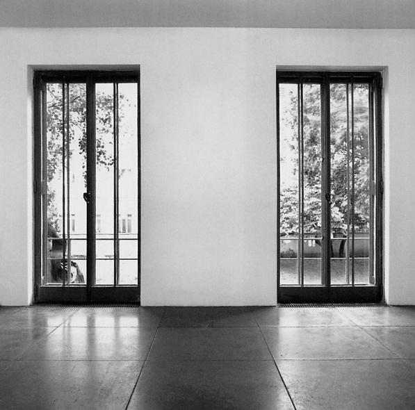 Interior of the Wittgenstein/Stonborough House in Vienna by Ludwig Wittgenstein and Paul Engelmann. Simple but very precise.