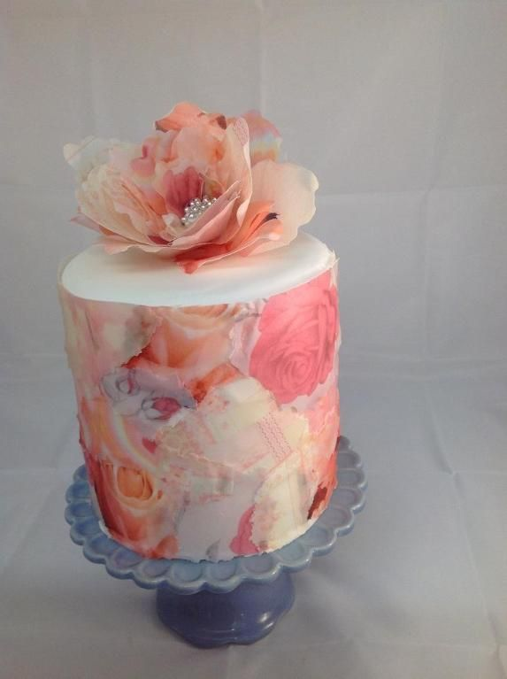 Learn How to Use Wafer Paper in Craftsy's: Delicate Wafer-Paper Cakes