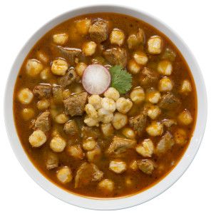 Traditional posole (pozole) - perfect for any day, not just the holidays.