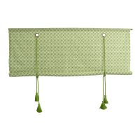 Silje roman blind green - 100 cm - Boel & Jan