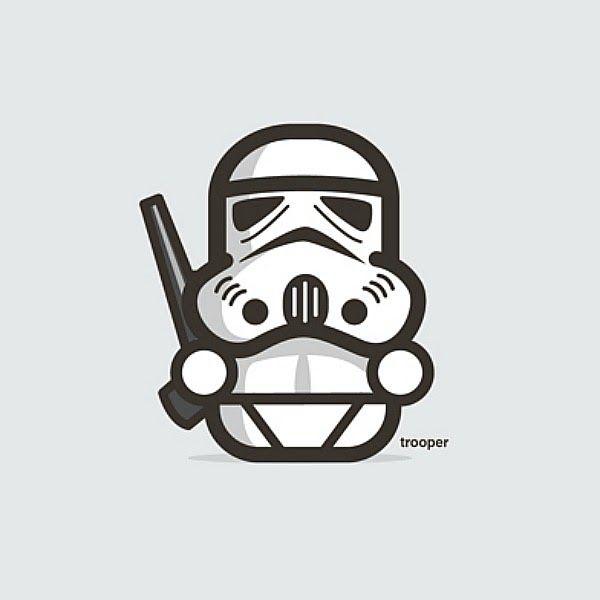 Divertidos personajes de Star Wars | La Jirafa Rosada