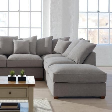 Settle down after a long day with some snacks and a great movie. Our Grosvenor corner sofa is big enough for the whole family to sit and relax.
